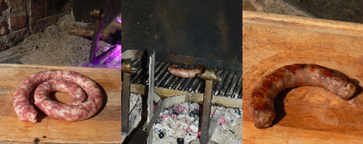 La saucisse fraîche du Domaine
